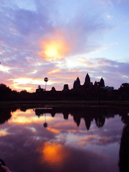 Angkor Wat at Sunrise