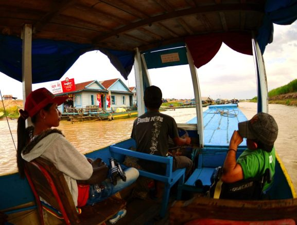 On Route to a Floating Village