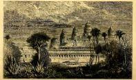 A drawing of Angkor Wat by Henri Mouhot from May 15, 1826 - November 10th, 1861