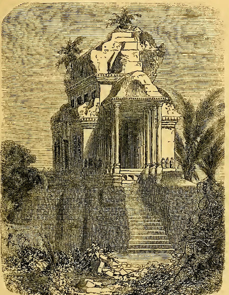 A drawing of Angkor Wat by Henri Mouhot from May 15, 1826 - November 10th, 1861 _