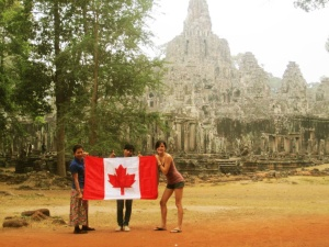 Happy Canada Day from Cambodia