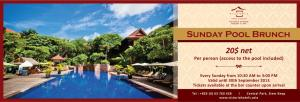 Events in Siem Reap - Sunday Brunch