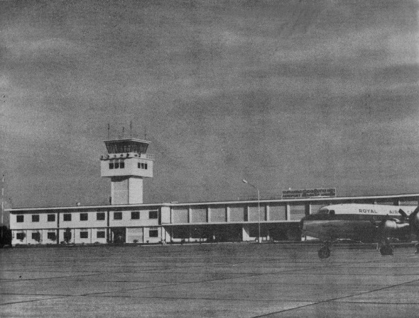 Chinese-funded, Siem Reap-Angkor Airport, published 1969