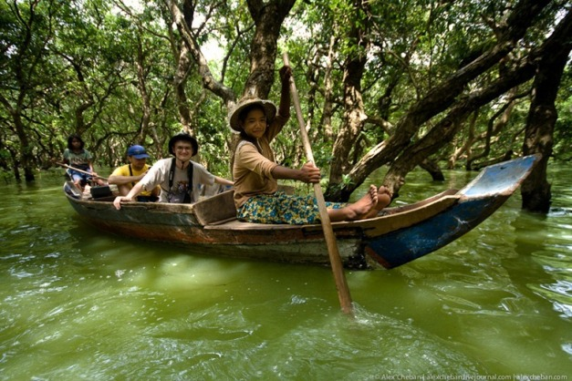 Kampong Phluk Flooded Forest