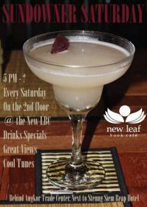 New Leaf Book Cafe - Events Siem Reap