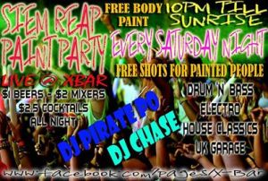 Paint Party - Events Siem Reap