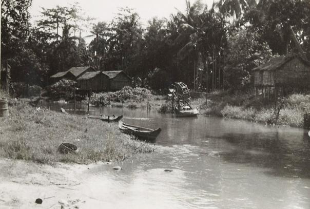 Siem Reap River in 1948
