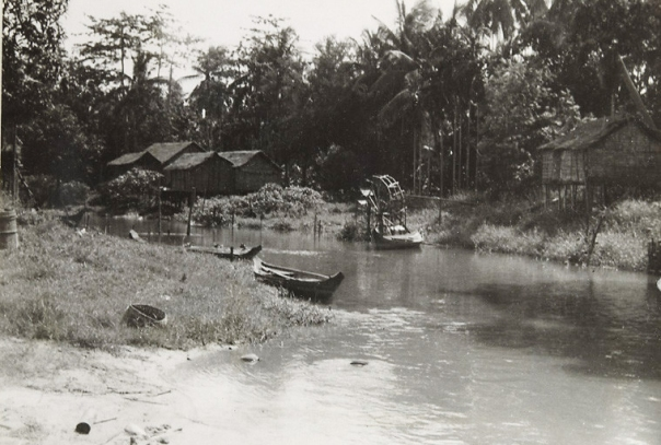 Siem Reap River in 1948
