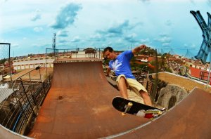 Skateboarding in Siem Reap