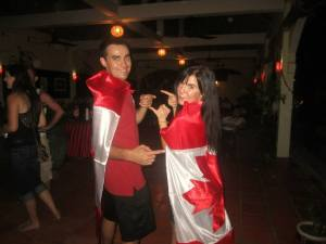 Canada Day at the Lotus Lodge in Siem Reap