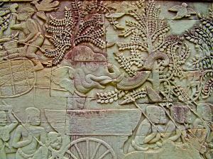 Elephant Bas Relief, Siem Reap