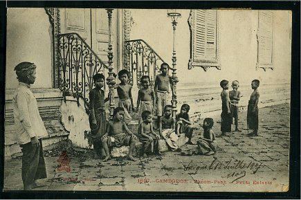 Phnom Penh - Young children.