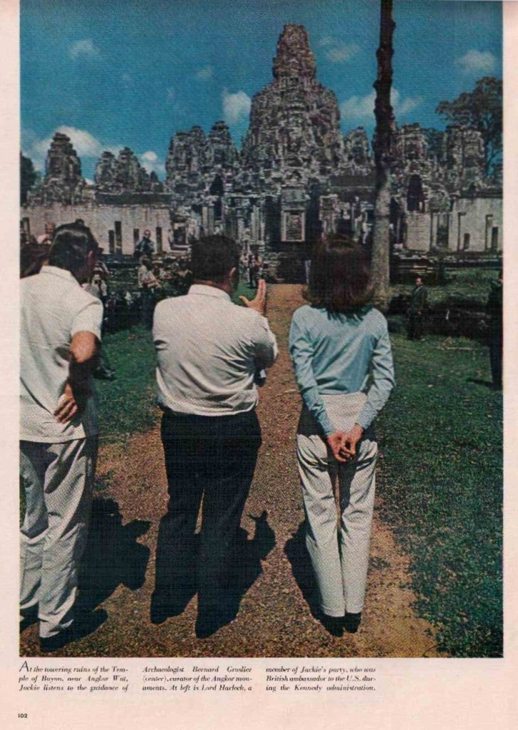 Jackie Kennedy in Cambodia