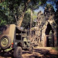 Siem Reap Cambodia - Jeep tour