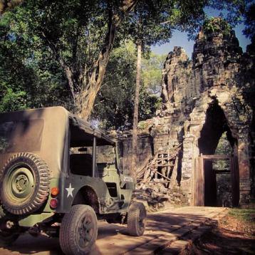 Siem Reap Cambodia - Jeep tour