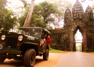 Jeep Adventure Tours, Siem Reap