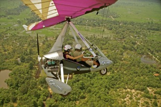 Microlight Flights Cambodia