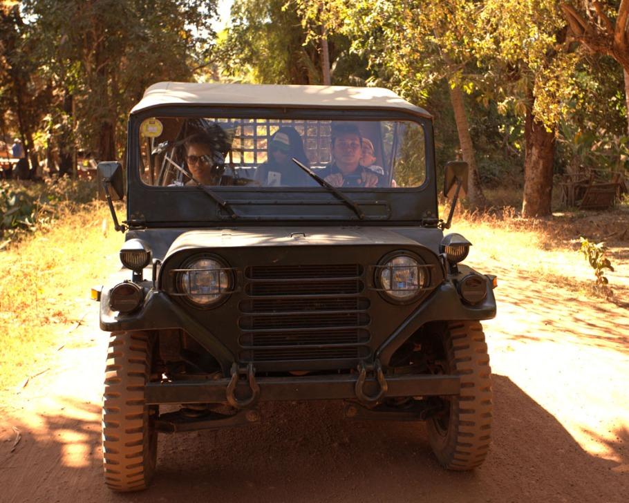 Siem Reap Cambodia Jeep Tour